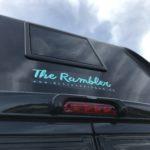 TheRambler Logo auf dem Heck